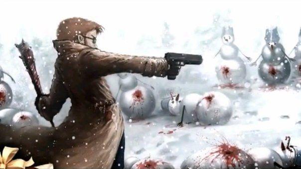 Postal - Evil Snowmen