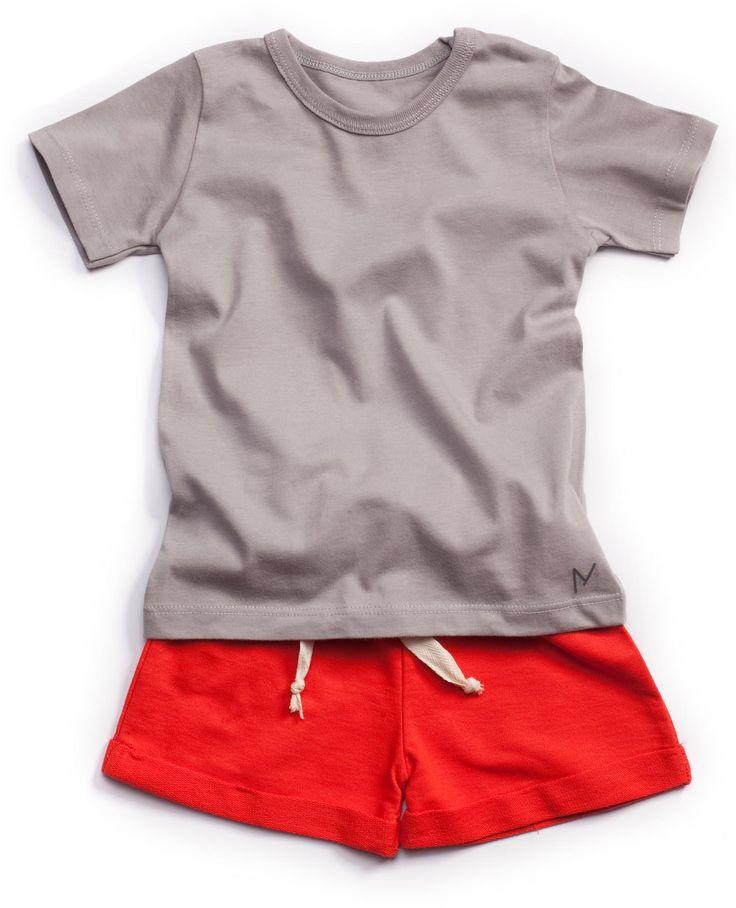 MINIMALIST #Sporty #Grey&Red