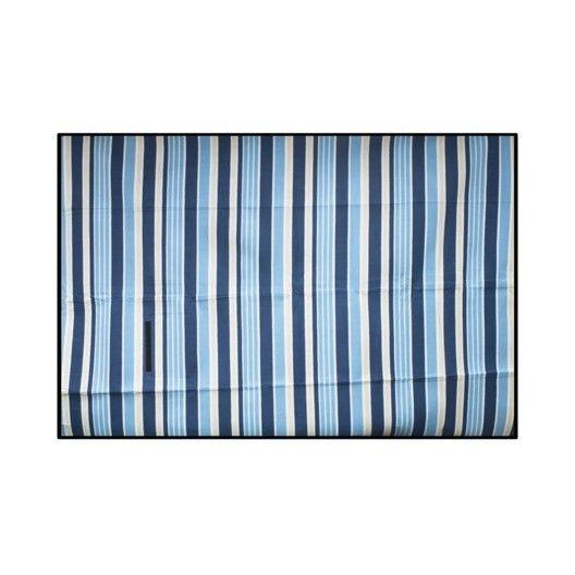 Pikniková deka s modrými pruhmi