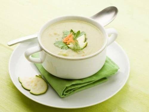 Суп-пюре с рисом и кабачками – рецепт с фото