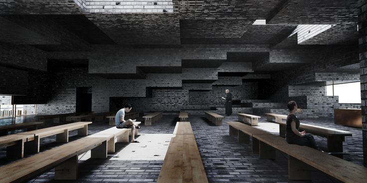 concept of the church in Sydhavnen | UGO Architecture