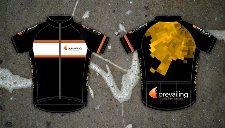 Cycle jersey design for Prevailing Analysis