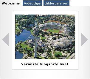 Olympiapark München :: Outside Area :: Olympiapark München GmbH, Events, Konzerte, Sport, Gesundheit, Wellness, Spaß, Action, Fitness, Tenni...