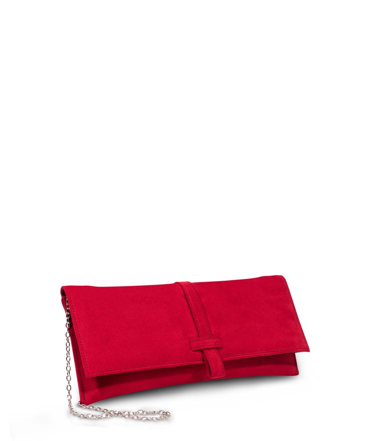 Jocks Clutch for formal occasions. Red