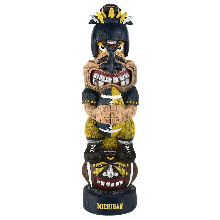 Michigan Wolverines Tiki Figurine