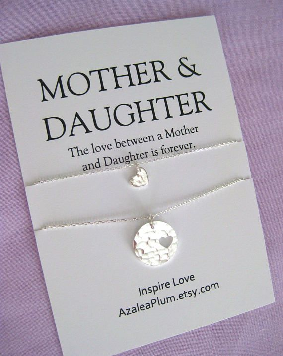 Valentines Jewelry Mom Sterling Silver Necklace