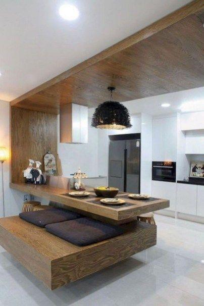 44 Simple Minimalist Interior Décor Ideas | home | Cuisine moderne ...