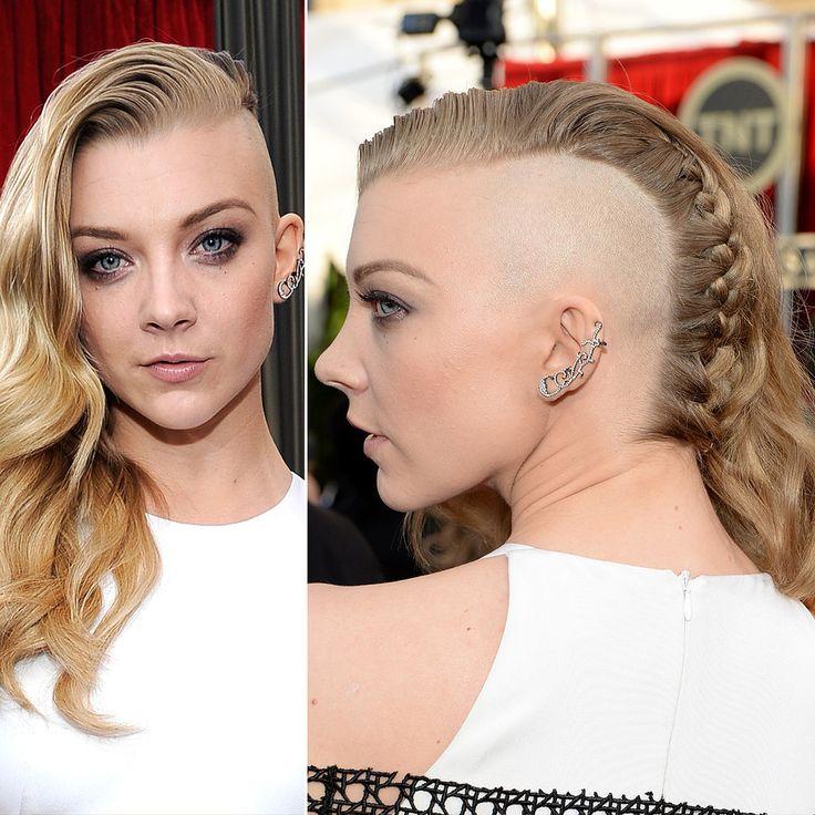 Natalie Dormer's Hair and Makeup at SAG Awards 2014 | POPSUGAR Beauty