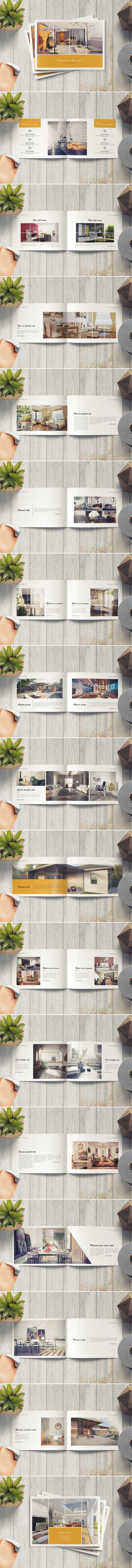 Minimal Product Catalog / Brochure on Behance