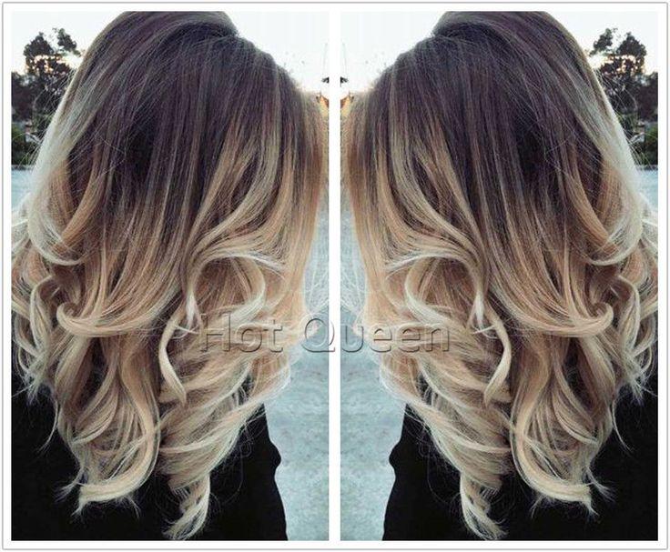 Médio 100% cabelo Humano Brasileiro PERUCAS ondulado Ombre Loira Full Lace Peruca Lace Front | Saúde e beleza, Produtos e finalizadores para os cabelos, Perucas e apliques/extensões | eBay!