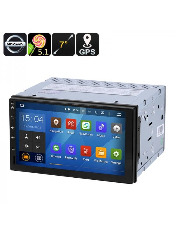 Universal Nissan 2 DIN Car Media Player