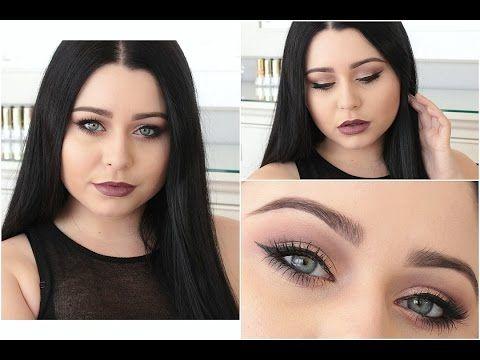 Mauve & Copper Makeup Tutorial: Morphe Single Eyeshadows - YouTube