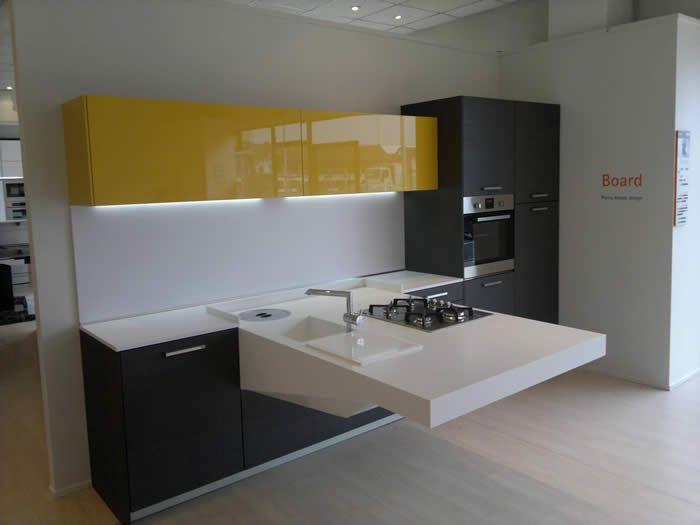 Afbeeldingsresultaat voor kleine keuken oplossingen