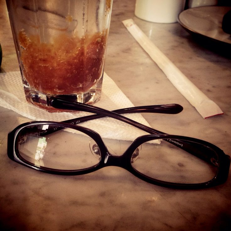 Glasses Journey with Lime Syrup
