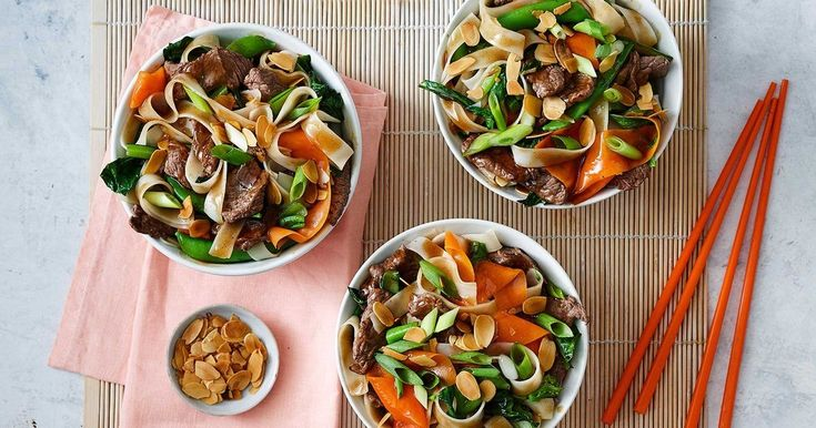 The secret to a successful stir-fry? Sticky beef, oodles of noodles and ready in under 30 minutes!