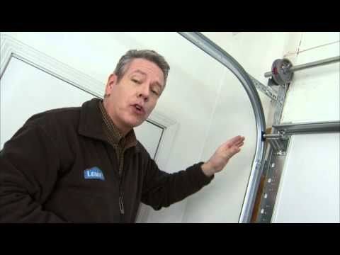 Maintain a Garage Door:Lubricate the door's hinges, springs and bearings with a nonsilicon-based lubricant, as recommended by the door manufacturer. Motor oil can be used to lubricate the parts.