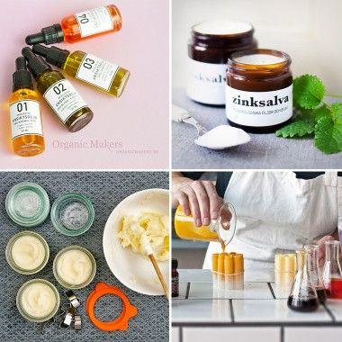 Med Organic Makers recept och råvaror gör du superbra ekologiska hudvårdsprodukter till hela familjen, och det är både roligt och lärorikt medan du håller på!