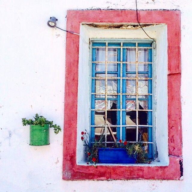 Window hole , Cunda / Turkey