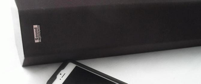 Sound Blaster Axx SBX20 Bluetooth Portable Speaker Review