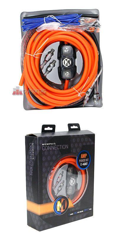 Amplifier Kits: Memphis Car Audio 17-4Gkit 4 Awg 1,000 Watts Amplifier Installation Kit New -> BUY IT NOW ONLY: $84.95 on eBay!