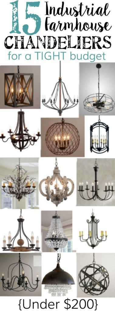Best 25 Farmhouse Chandelier Ideas Only On Pinterest