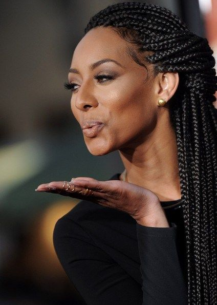 What do you think of Keri Hilson's braids? I love them! I think they really fit her. The slicked down edges? She doesn't want breakage around her edges. Which celebrity would you love to see rock braids next? Rihanna! Would love to see that!