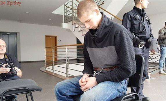 Soud poslal do vazby obviněného z brutální vraždy mladé ženy v Polance