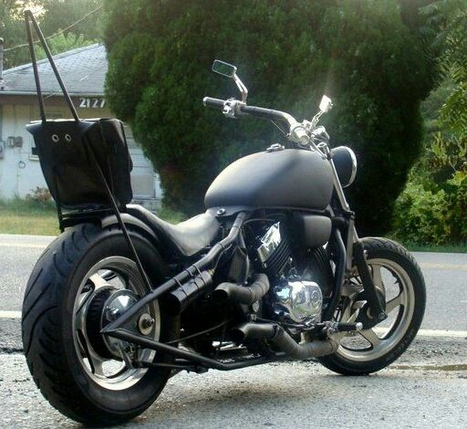 Honda Magna Chopper Built By Young Guys Custom