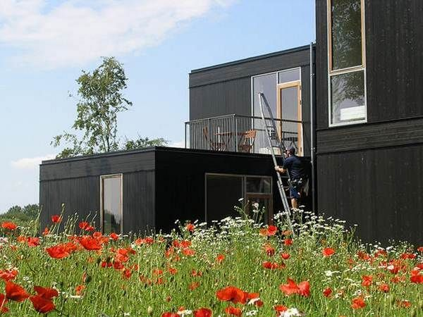 Modern and modular luxury homes