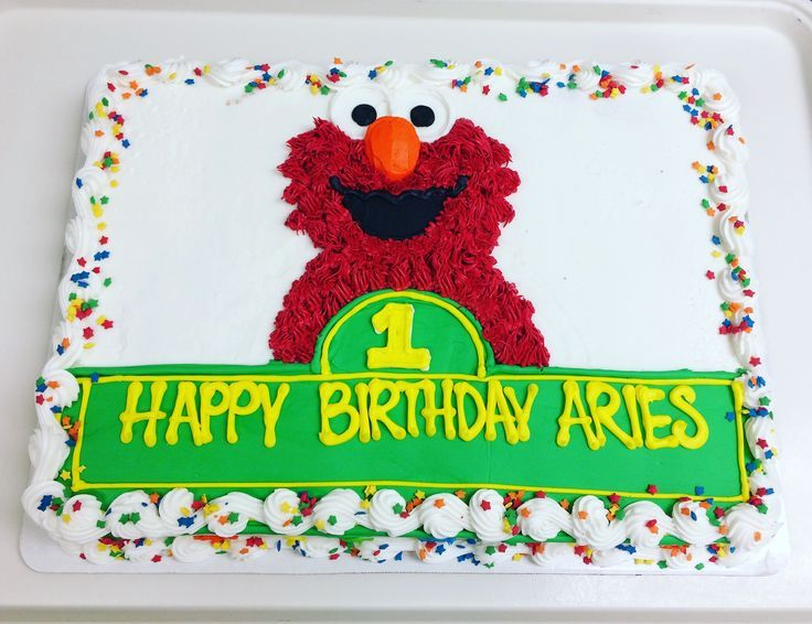 Best 25 Elmo Birthday Cake Ideas On Pinterest Sesame