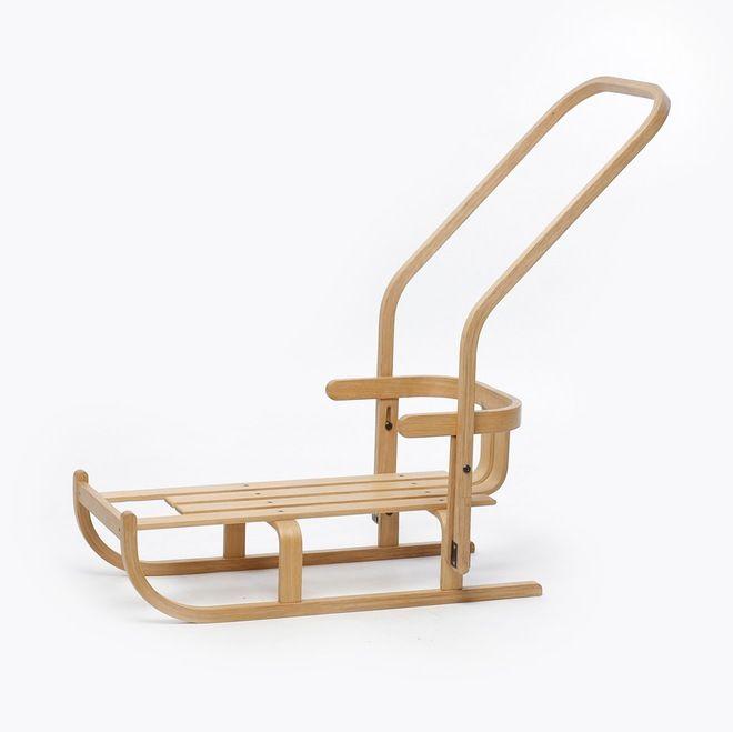 Wooden sledge - Estonian design by Toivo Raidmets