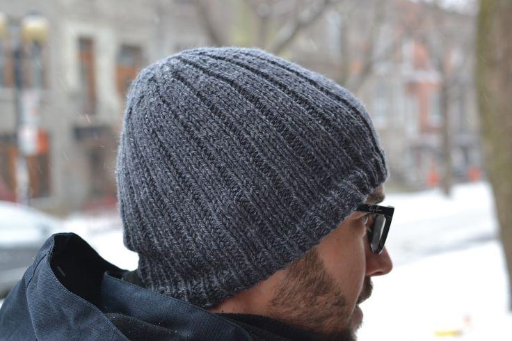 Homemade Perrin Pimpim : Ribbed Beanie pour le Duc ! Un bonnet tricoté en 5 mm, facile facile et gratuit !