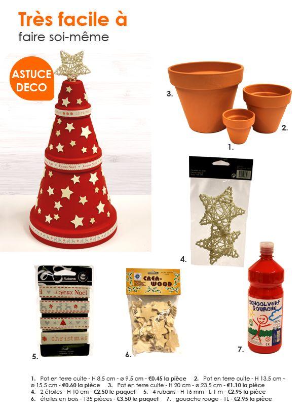 Une fête de Noël créative ! idées sympas de décos de Noël  Floralux - Dadizele - Belgique
