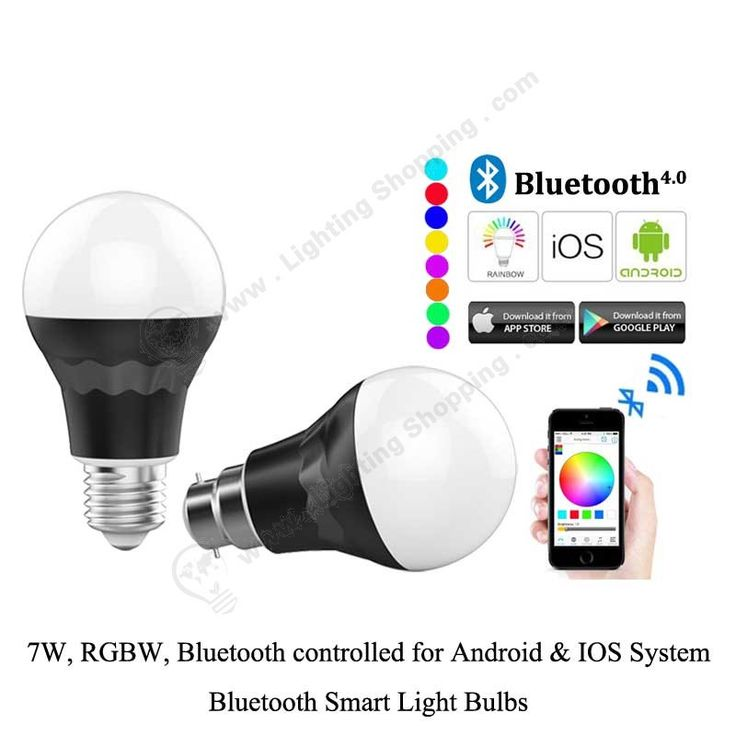#Bluetooth #Smart #Light #Bulbs >>>  #RGBW, 7W, AC85V-240V, Bluetooth wireless control supports Android & IOS system,   Link >>> http://www.lightingshopping.com/bluetooth-smart-light-bulbs-7w-rgbw.html
