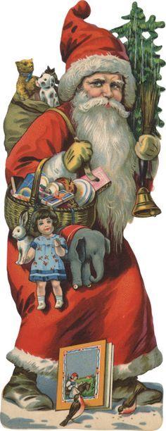 Vintage Victorian Santa Scrap                                                                                                                                                                                 Mehr