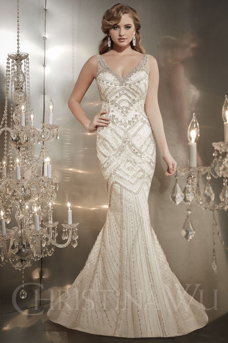 242 best wedding dresses images on pinterest wedding dressses christina wu style 15562 wedding dress the knot ombrellifo Image collections