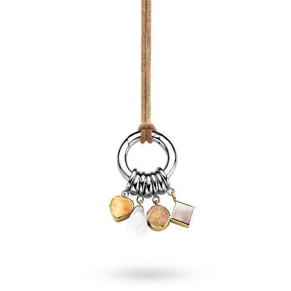 Długi naszyjnik z zawieszkami. #necklace www.terpilowski.com.pl