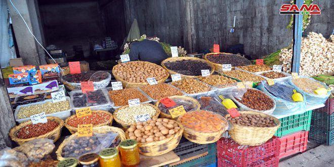 توافر السلع في أسواق حماة واللاذقية مع حلول شهر رمضان المبارك وسط تفاوت في الأسعار Picnic Basket Picnic Basket