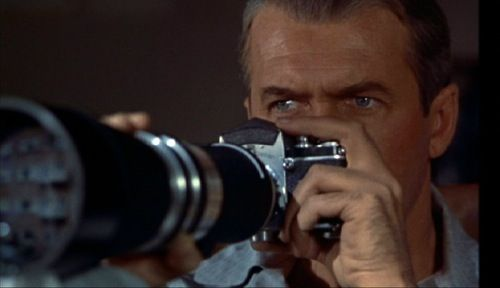 """Alfred Hitchcock's """"Rear Window"""" 1954"""