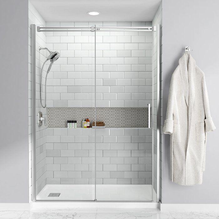 Studio 30 X 60 Single Threshold Shower Base Small Bathroom