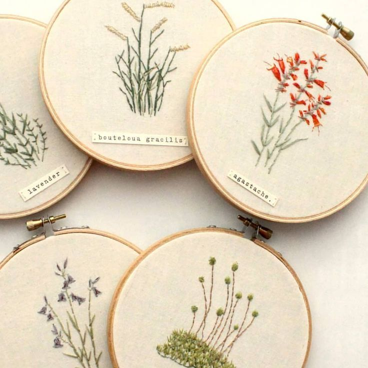 Simple Yet Delicate Natural Flower Embroidery French Knot Embroidery French Knots French Knot Hairstyle