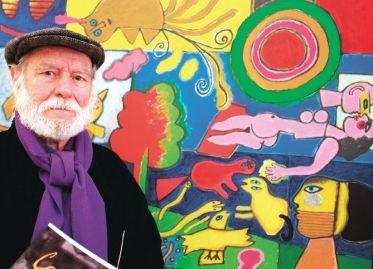 CORNEILLE Pierre Guillaume Cornelis Beverloo Belgian painter (1922 - 2010)  - COBRA art movement -