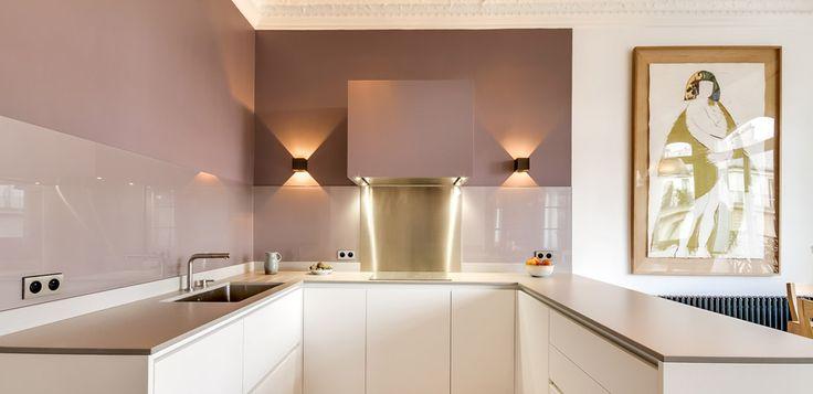 Alphonse xiii alma intérieurs architecture et décoration sur mesure kitchen pinterest