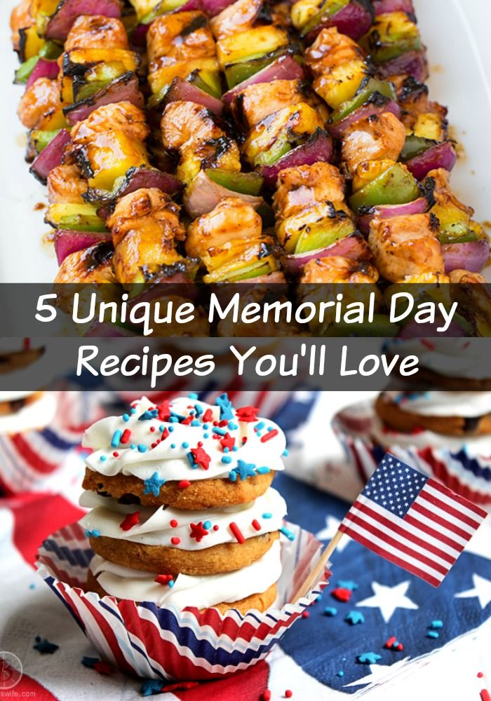 5 Unique Memorial Day Grilling Recipes - http://www.sofabfood.com/5-unique-memorial-day-grilling-recipes/ Make your Memorial Day party the event of the summerwhen you makethese uniquepatriotic foods that will createa bang at your celebration. TheseMemorial Day recipes will help you give our nation the celebration it deserves.  1.Easy Grillable Veggie Burgers Make these Easy Grillable Veggie B...