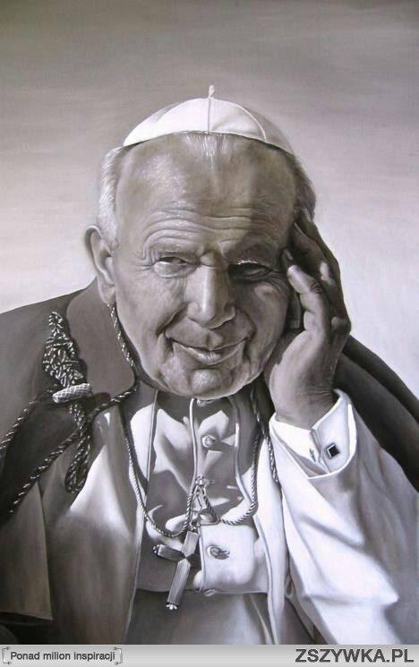 Mistrzowski portret Jana Pawła II