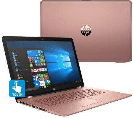 "HP 17"" Touch Laptop Core i5 8GB RAM 2TB HD w/ Backlit Keys & Tech Support - HP 17"" Touch Laptop Core i5 8GB RAM 2TB HD w/ Backlit Keys & Tech Support - QVC"