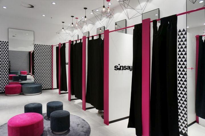 Источник вдохновения: дизайн магазина женской одежды Sinsay