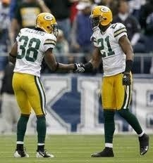 Tramon Williams and Charles Woodson