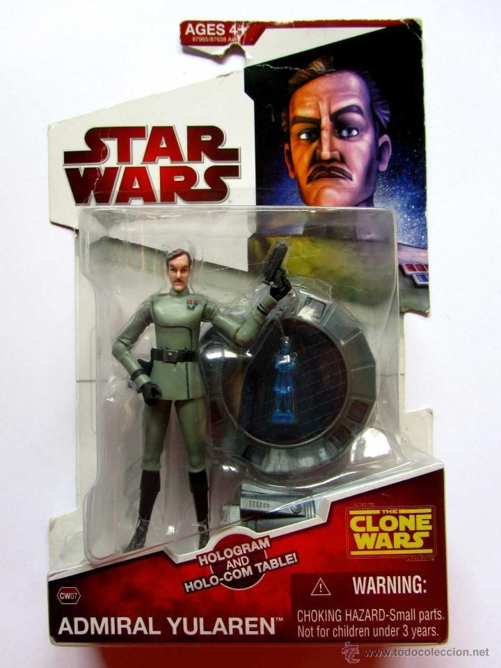 Star Wars CW The Clone Wars Admiral Almirante Yularen MOC