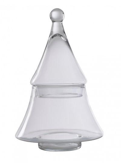 VIDRI - Bonbonnière H.30 Cm En Forme De Sapin Transparent
